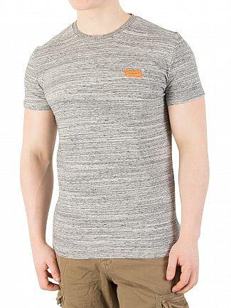 Superdry Tidal Space Dye Orange Label Vintage T-Shirt