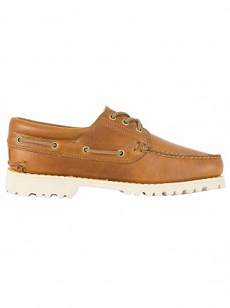 Timberland Sahara Chilmark 3 Eye Hands Leather Boat Shoes