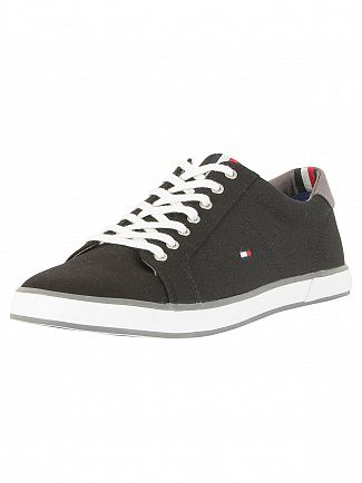 Tommy Hilfiger Black Flag Canvas Trainers