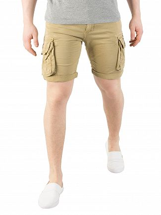 Alpha Industries Sand Crew Cargo Shorts