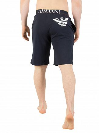 Emporio Armani Marine Logo Pyjama Shorts