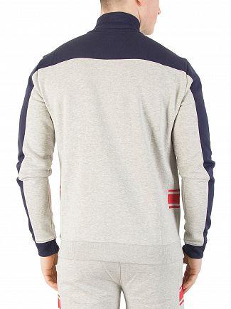 Fila Vintage Peacoat/Light Grey/Red Mivvi Track Panelled Jacket