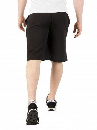 Fila Vintage Black Tanaro Fleece Sweat Shorts