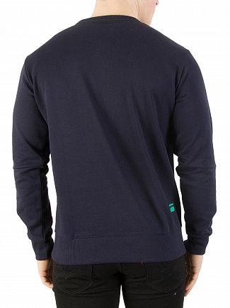 G-Star Sartho Blue Logo Sweatshirt