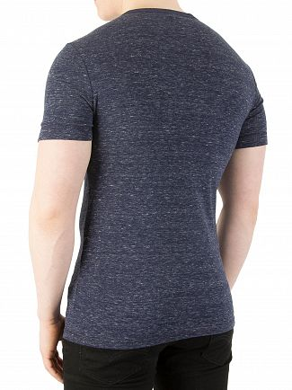 G-Star Sartho Blue Heather RC Slim Fit Unstand T-Shirt