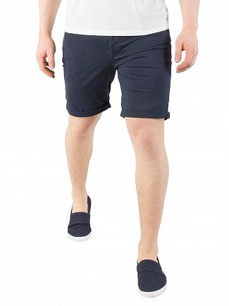 Jack & Jones Black Iris Rick Original Comfort Fit Shorts