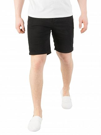 Jack & Jones Black Rick Original Comfort Fit Shorts