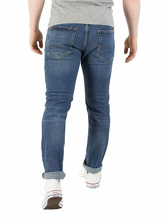 Jack & Jones Blue Denim Tim Original 691 Slim Fit Jeans