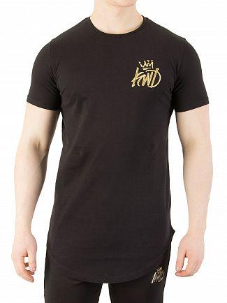 Kings Will Dream Black/Gold Travis T-Shirt