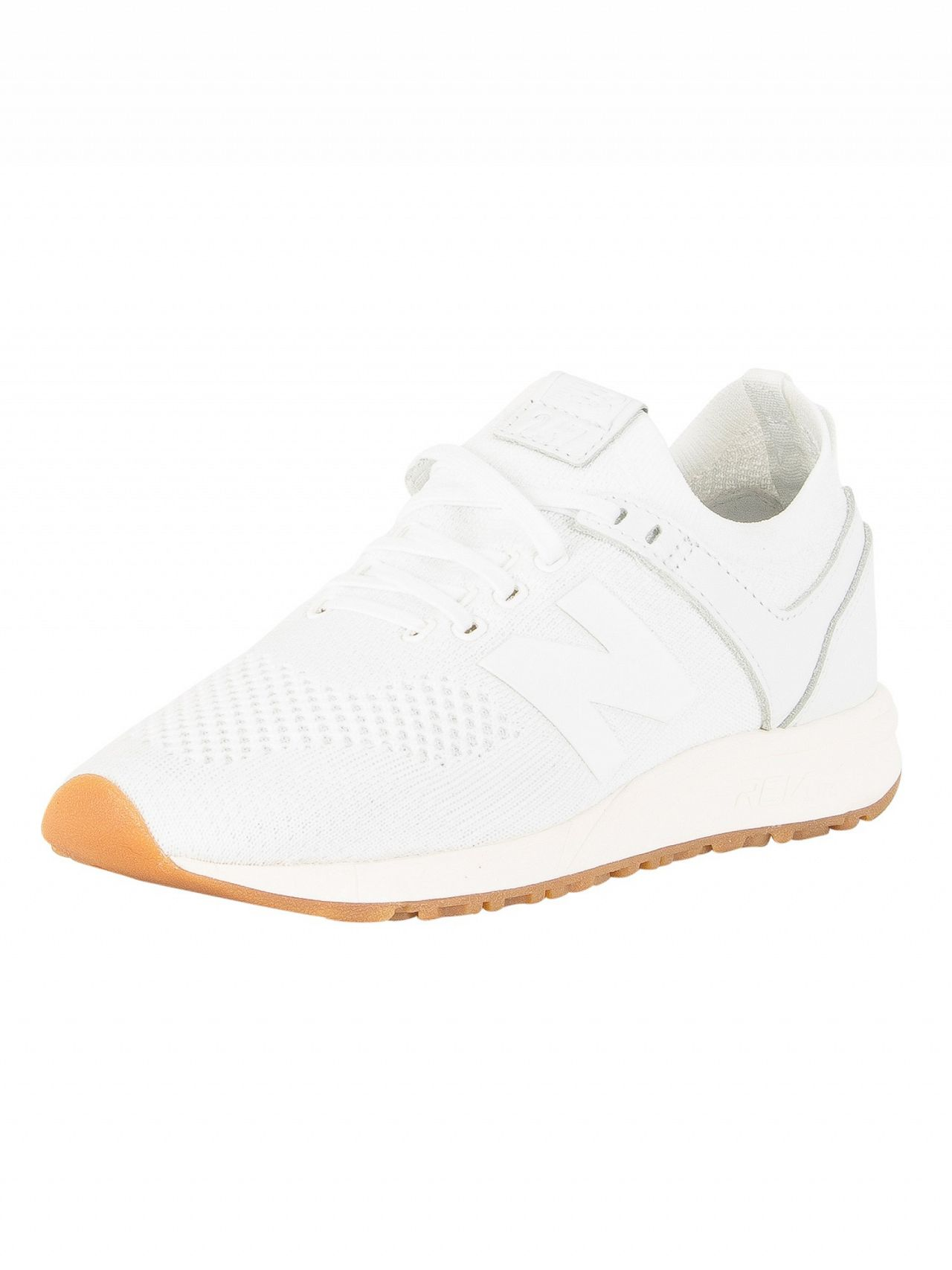 636e8206a912 New Balance White Gum 247 Trainers