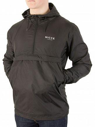 Nicce London Black Core Kagoule Zip Jacket