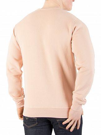 Nicce London Dusty Pink Emboss Sweatshirt