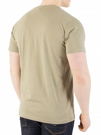 Nicce London Green Embossed T-Shirt