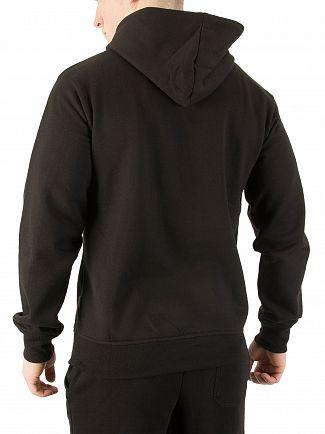 Nicce London Black Original Logo Hoodie