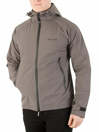 Nicce London Grey Scapa Jacket
