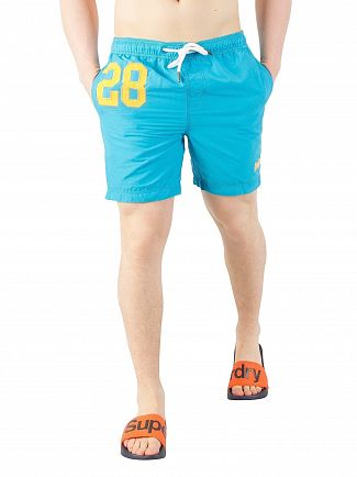 Superdry Ocean Blue Water Polo Swim Shorts
