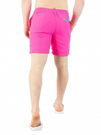 Superdry Cantina Pink Water Polo Swim Shorts