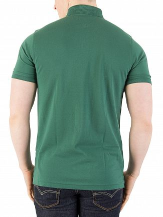 Tommy Hilfiger Posy Green Tommy Slim Fit Polo Shirt