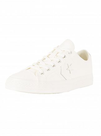 Converse Egret/Egret/Egret Star Player OX Trainers