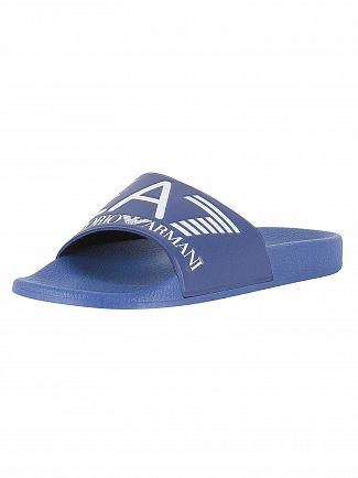 EA7 Mazarine Blue Sea World Sliders