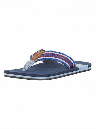 Gant Multi Blue Breeze Ribbon EVA Premium Flip Flops