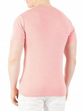 G-Star Cactus Pink Heather Daplin Slim Fit T-Shirt