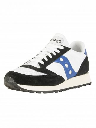 Saucony White/Black Jazz Original Vintage Trainers