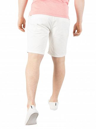 Scotch & Soda Vintage White Classic Chino Shorts