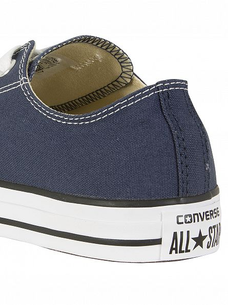 Converse Navy All Star Ox Trainers