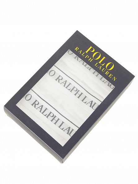 Polo Ralph Lauren White 3 Pack Trunks