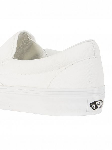 Vans True White Classic Slip-On Trainers