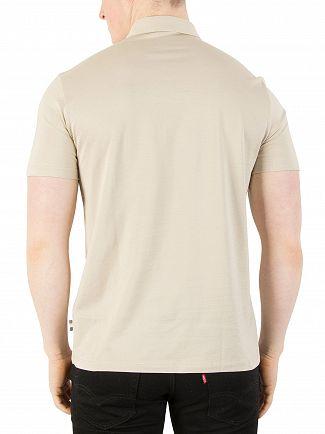 Aquascutum Beige/Vicuna Dillon Polo Shirt