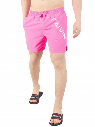 Calvin Klein Sugar Plum Medium Drawstring Swim Shorts