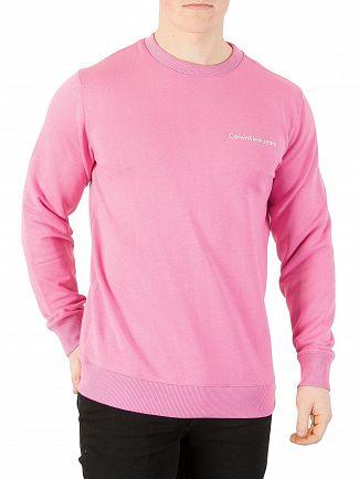 Calvin Klein Jeans Wild Orchid Logo Sweatshirt