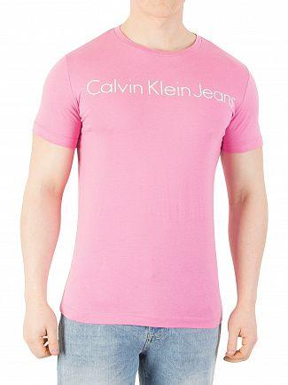 calvin-klein-jeans-pink-tshirt