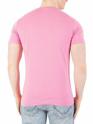 Calvin Klein Jeans Wild Orchid Slim Graphic T-Shirt