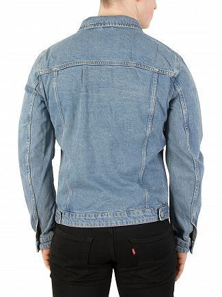 Jack & Jones Blue Denim Alvin 299 Jacket