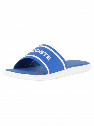 Lacoste Blue/White L.30 218 1 CAM Sliders