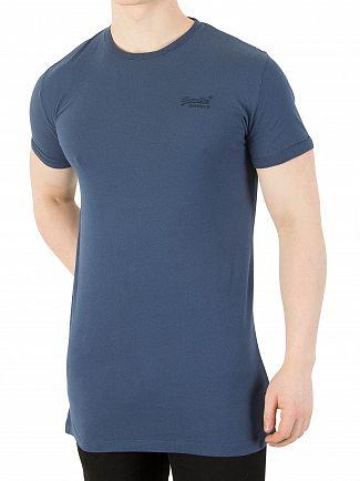 Superdry Carbon Blue Orange Label Light T-Shirt