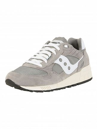 Saucony Grey Shadow 5000 Vintage Suede Trainers