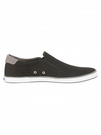 Tommy Hilfiger Black Iconic Slip On Trainers