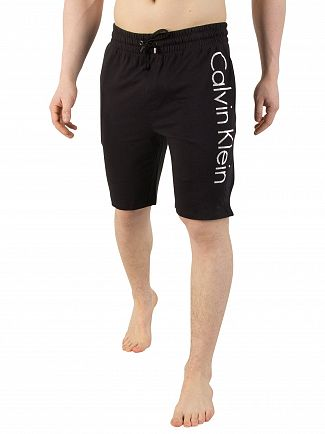 Calvin Klein Black/White Side Logo Shorts