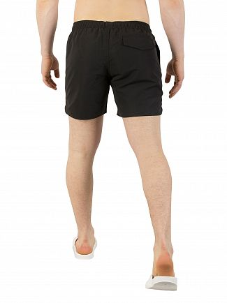 EA7 Black Sea World Swim Shorts