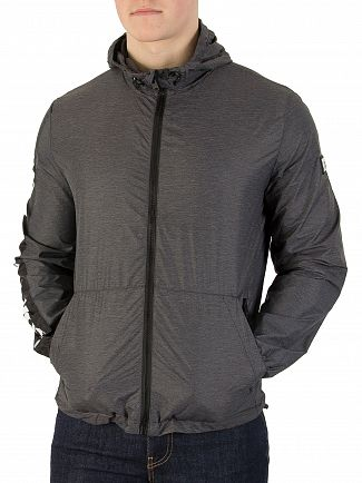 Superdry Grey Marl Nue Wave Cagoule Jacket