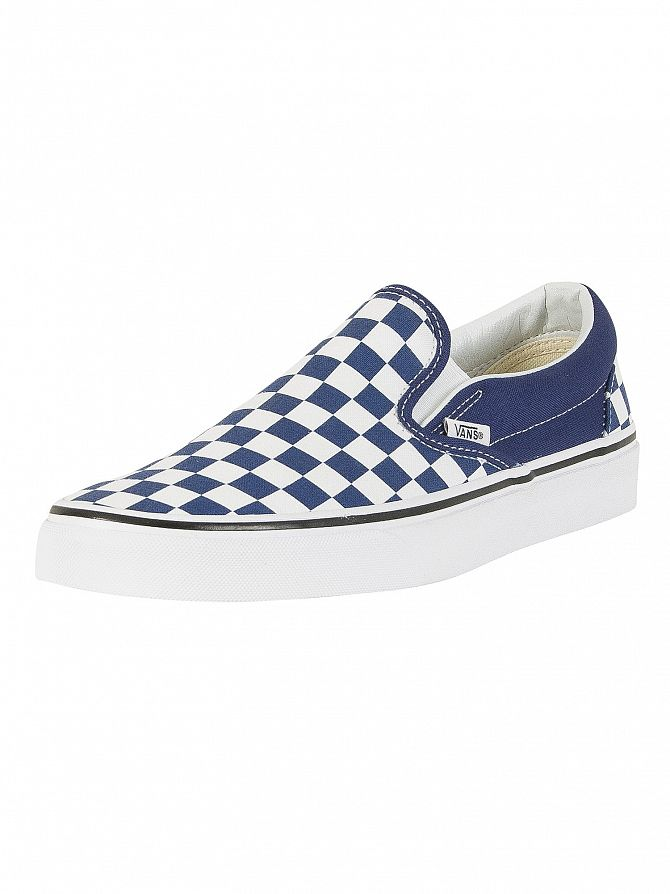 Vans Checkerboard Slip On Uomo Scarpe da ginnastica in tela 7 12.5