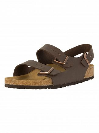 Birkenstock Dark Brown Milano Sandals