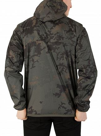 K-Way Dark Camouflage Le Vrai 3.0 Claude Jacket