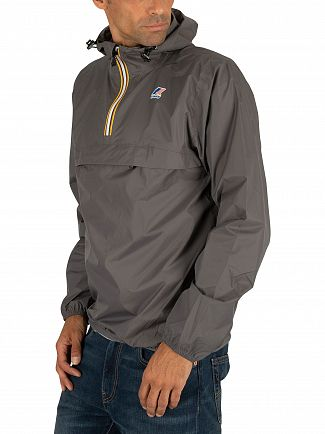 K-Way Grey Smoke Le Vrai 3.0 Leon Jacket