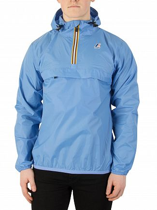 K-Way Azure Blue Le Vrai 3.0 Leon Jacket