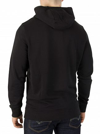 Lyle & Scott True Black Pullover Hoodie